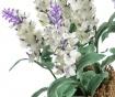 Set 3 plante artificiale in ghiveci Lavander Flowers