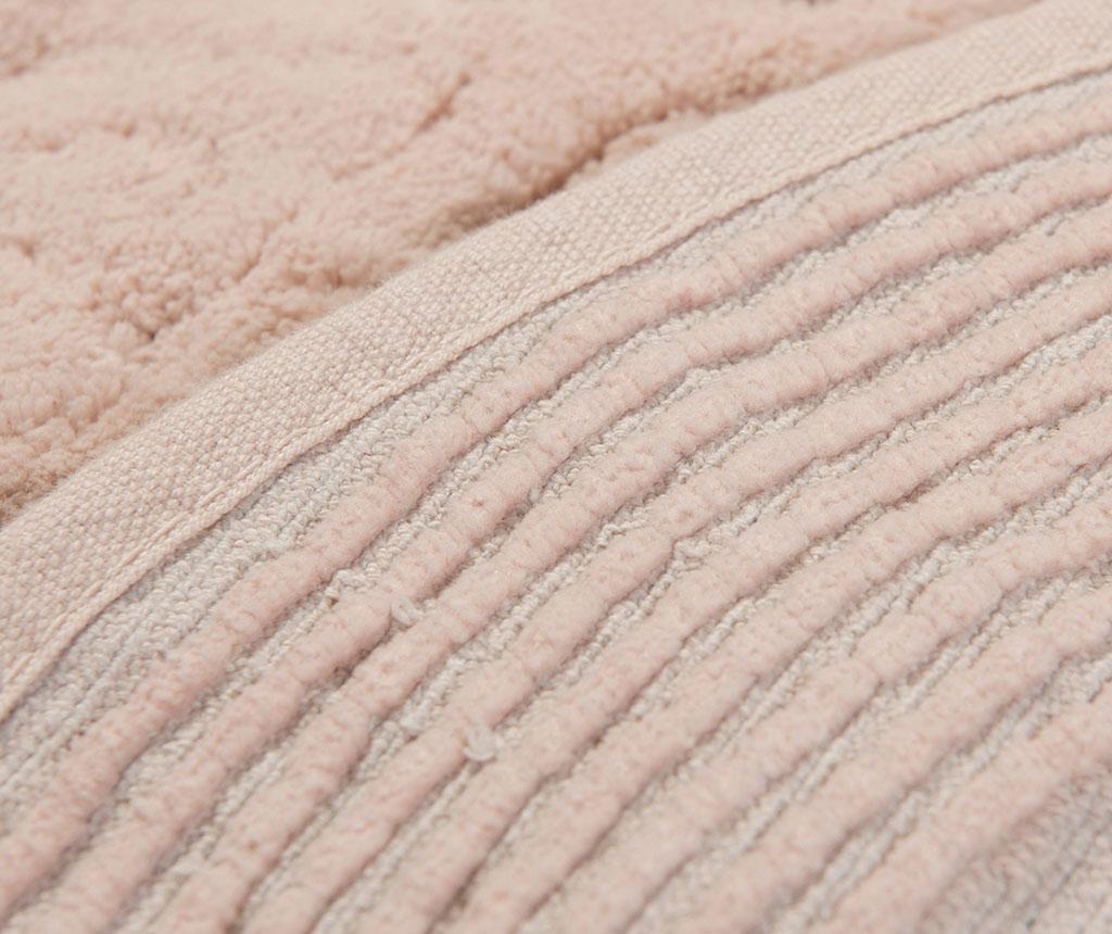 Set 2 covorase de baie Piante Oval Pink