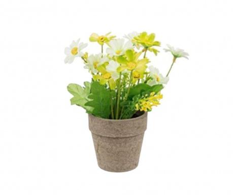 Umjetni cvijet u posudi Manny