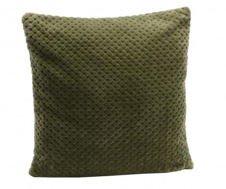 Dekorační polštář Damier Kaki 40x40 cm