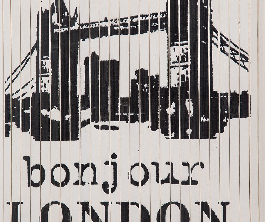 London Ruháskosár fedővel