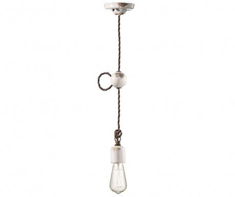 Závěsná lampa Baldwin White