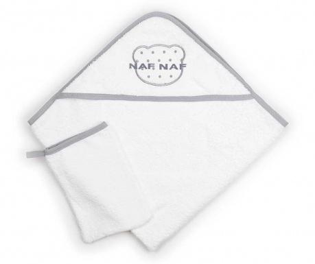 Комплект кърпа с качулка и ръкавица за баня Once Upon a Time
