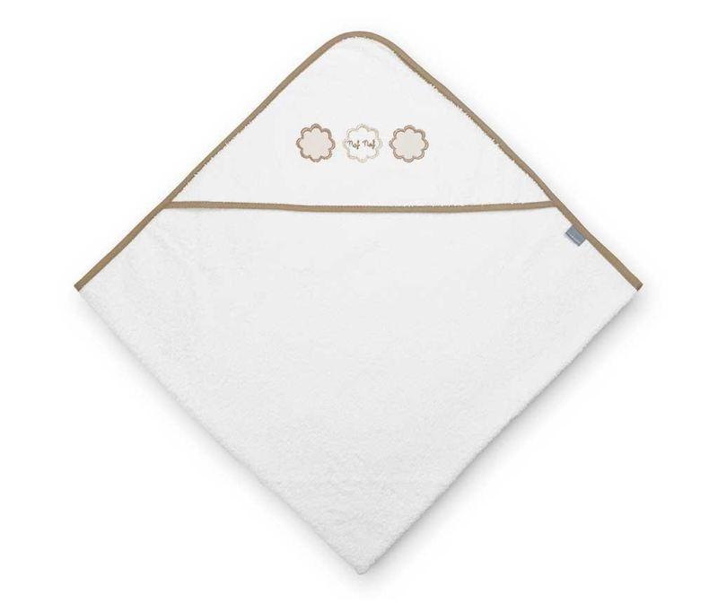 Kopalna brisača s kapuco Tres Chic Beige 100x100 cm