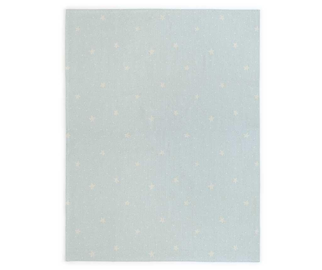 Covor Stars and Dots Blue 120x160 cm