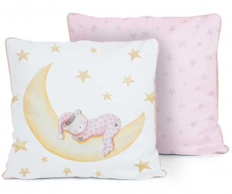 Perna decorativa Marlon Night Pink 50x50 cm