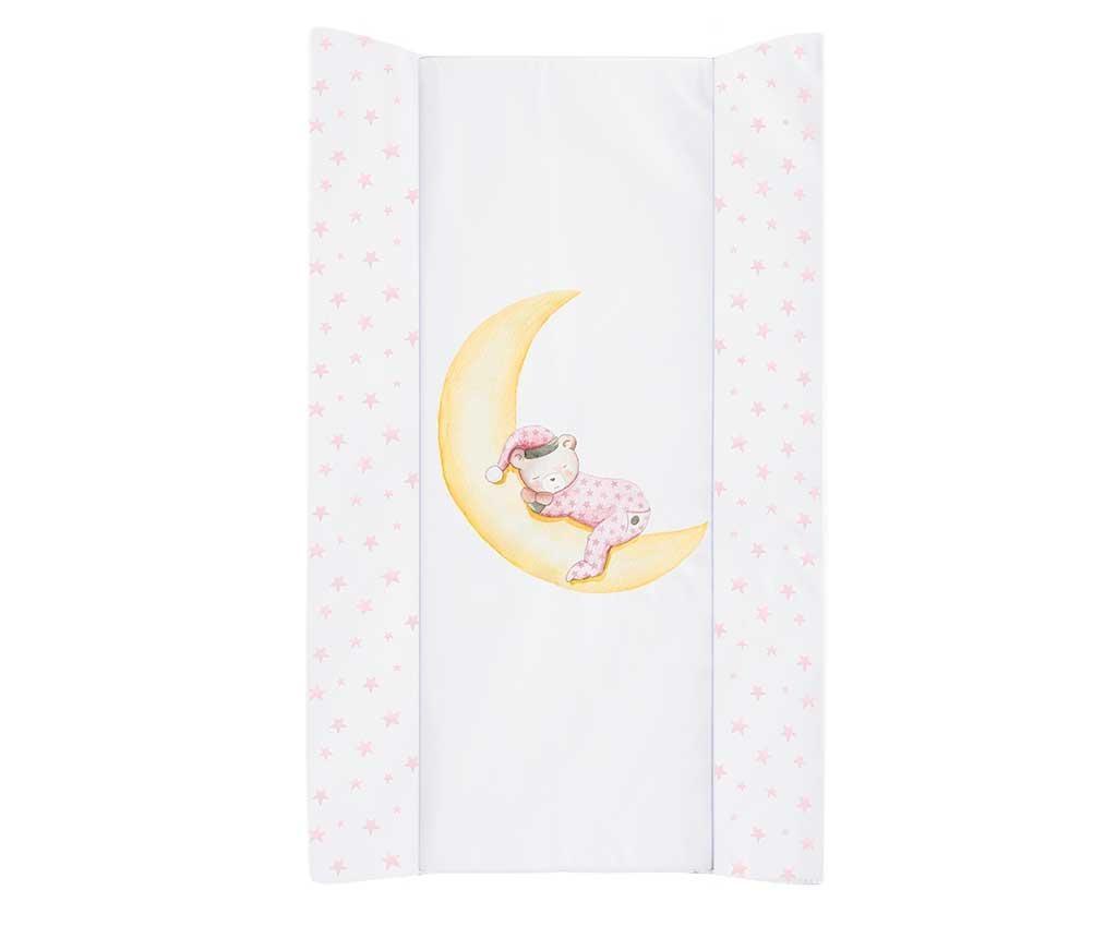 Podloga za previjanje Marlon Night Pink 50x80 cm