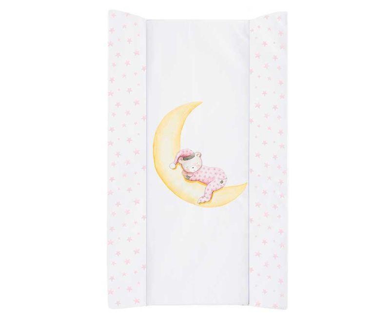 Saltea pentru schimbat scutece Marlon Night Pink 50x80 cm