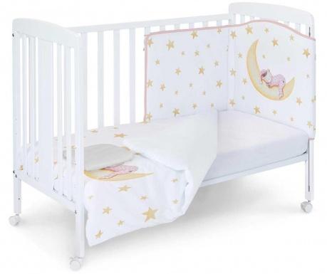 Set krevetić i dodaci Marlon Night Pink