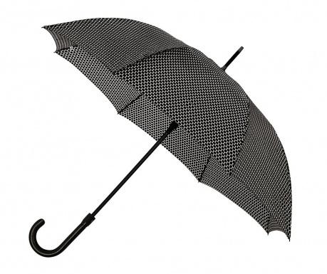 Deštník Falconetti Ava Geometric Black