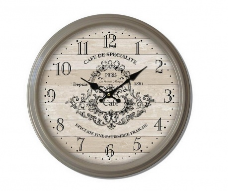 Ρολόι τοίχου Cafe