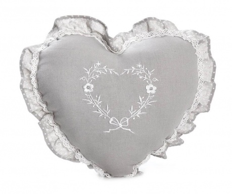 Perna decorativa Stephaine Heart 38x38 cm