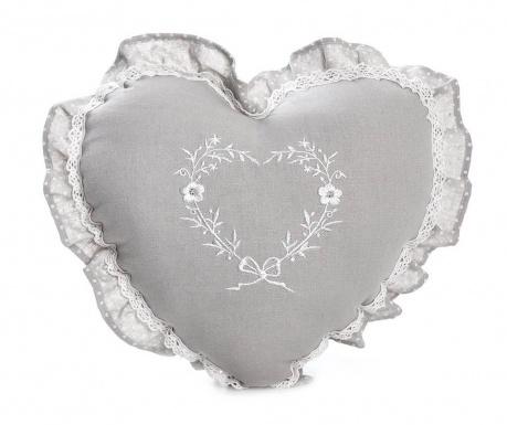 Dekorační polštář Stephaine Heart 38x38 cm