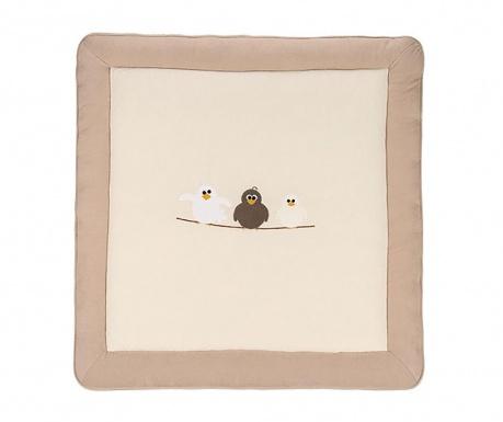 Tepih za igru Birds Beige 100x100 cm