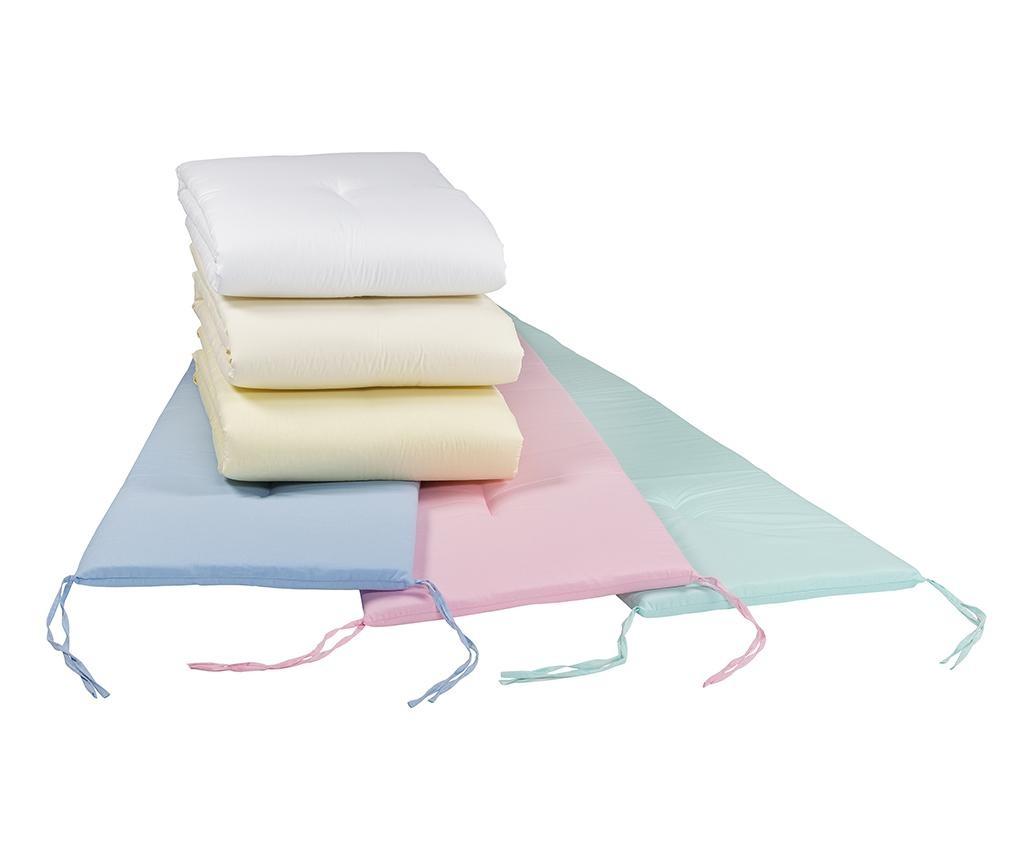 Protectie pentru patut Lavia Pink 46x295 cm