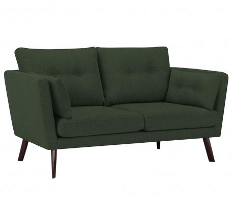 Elena Eli Bottle Green Háromszemélyes kanapé