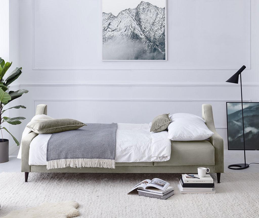 Canapea extensibila cu 3 locuri Freesia Beige