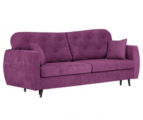 Popy Purple Háromszemélyes kihúzható kanapé