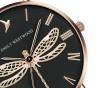 Ženski ručni sat Emily Westwood Dragonfly Brown Leather
