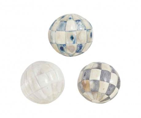 Set 3 dekoracij Shells Style