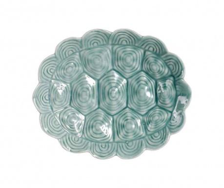 Dekorativni servirni krožnik Shell