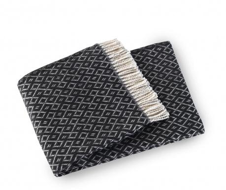 Agave Dark Grey Pléd 140x180 cm