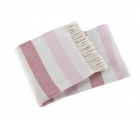Κουβέρτα Sweet Stripe Light Pink 140x180 cm