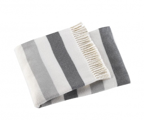 Κουβέρτα Sweet Stripe Mid Grey 140x180 cm