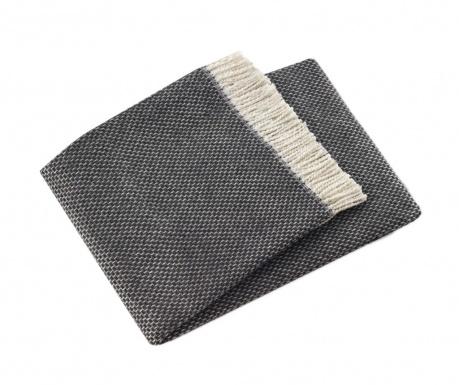 Priročna odeja Zen Dark Grey 140x180 cm