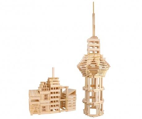 Set de construit 150 piese City Block