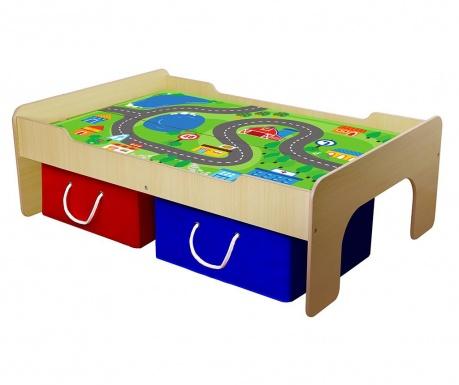 Set masa de joc si 2 cutii Land