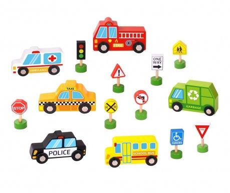 Set za igru 15 dijelova Transportation Street