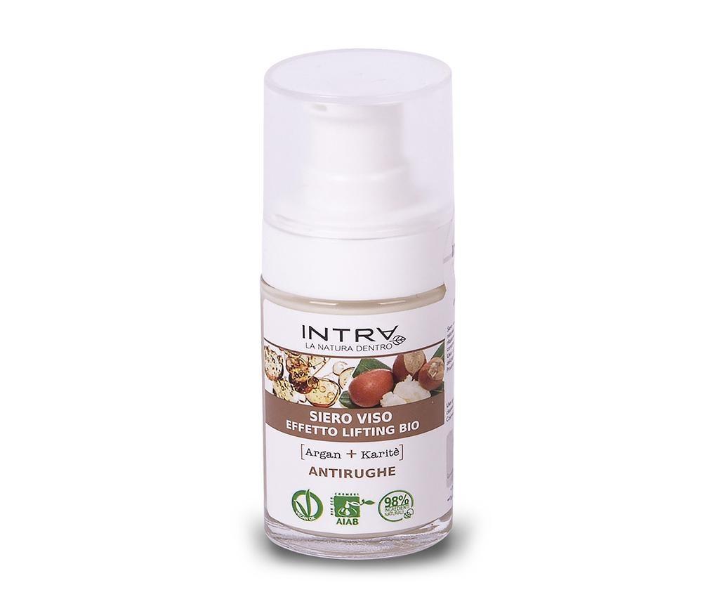 Ser organic cu efect de lifting Smooth Argan&Shea Butter 30 ml