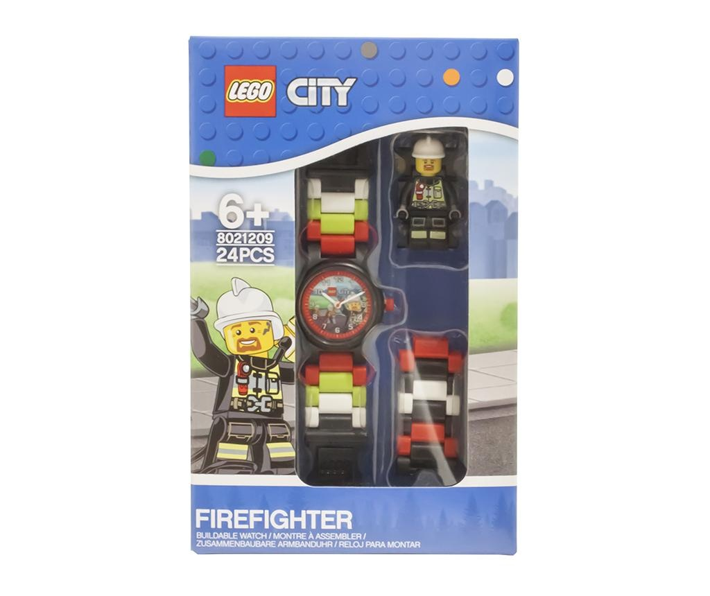 Lego City Fire Fighter Gyerek karóra