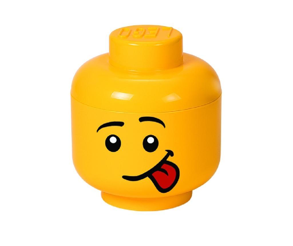 Cutie cu capac Lego Silly Boy Face S