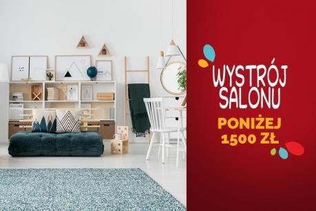 Przemeblowywanie salonu poniżej 1500 zł