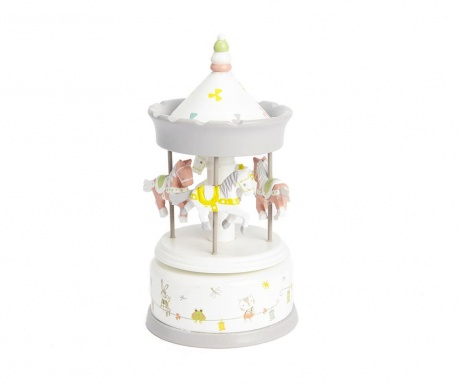 Decoratiune muzicala Little Animals Carrousel