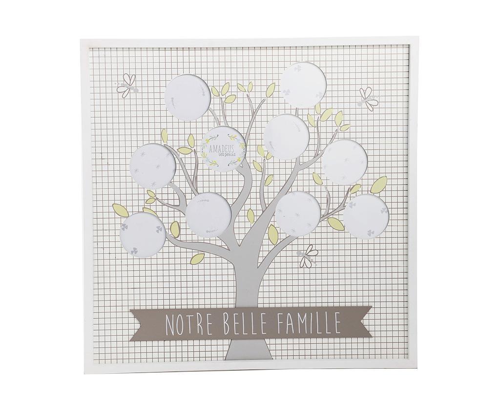 Belle Famille Squares White Fényképtartó 10 fényképnek