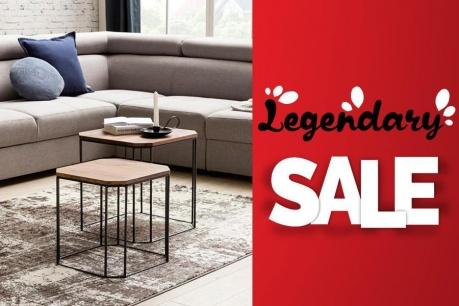 Legendary Sale: Мебели и канапета