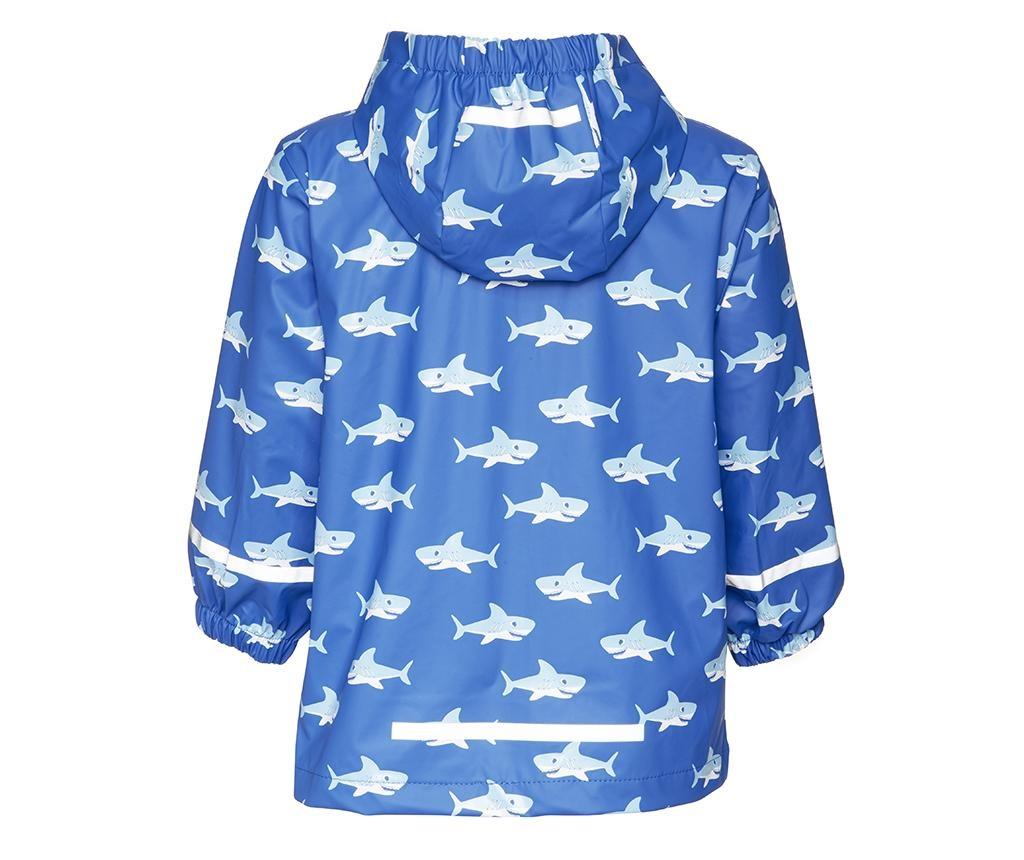 Dětská sada nepromokavá bunda a overal Sharks Allover 12-18 měs.