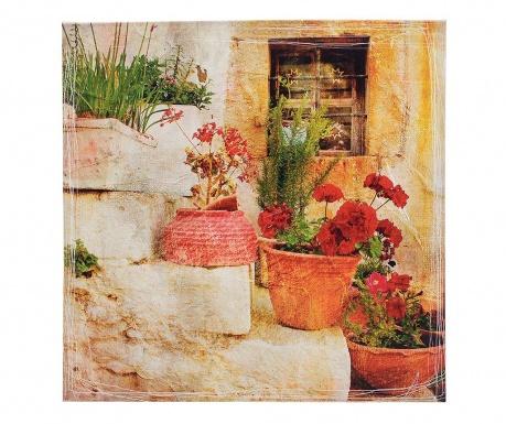 Obraz Flower Pots 56x56 cm