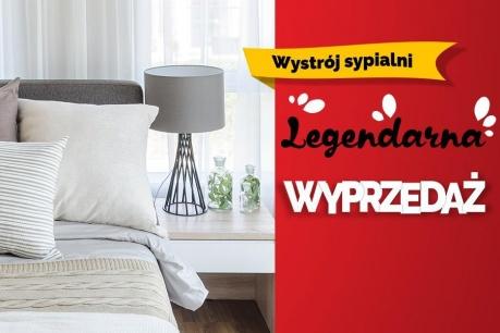Legendarna Wyprzedaż: Wystrój sypialni