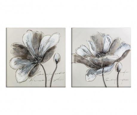 Flowers 2 db Kép 50x50 cm
