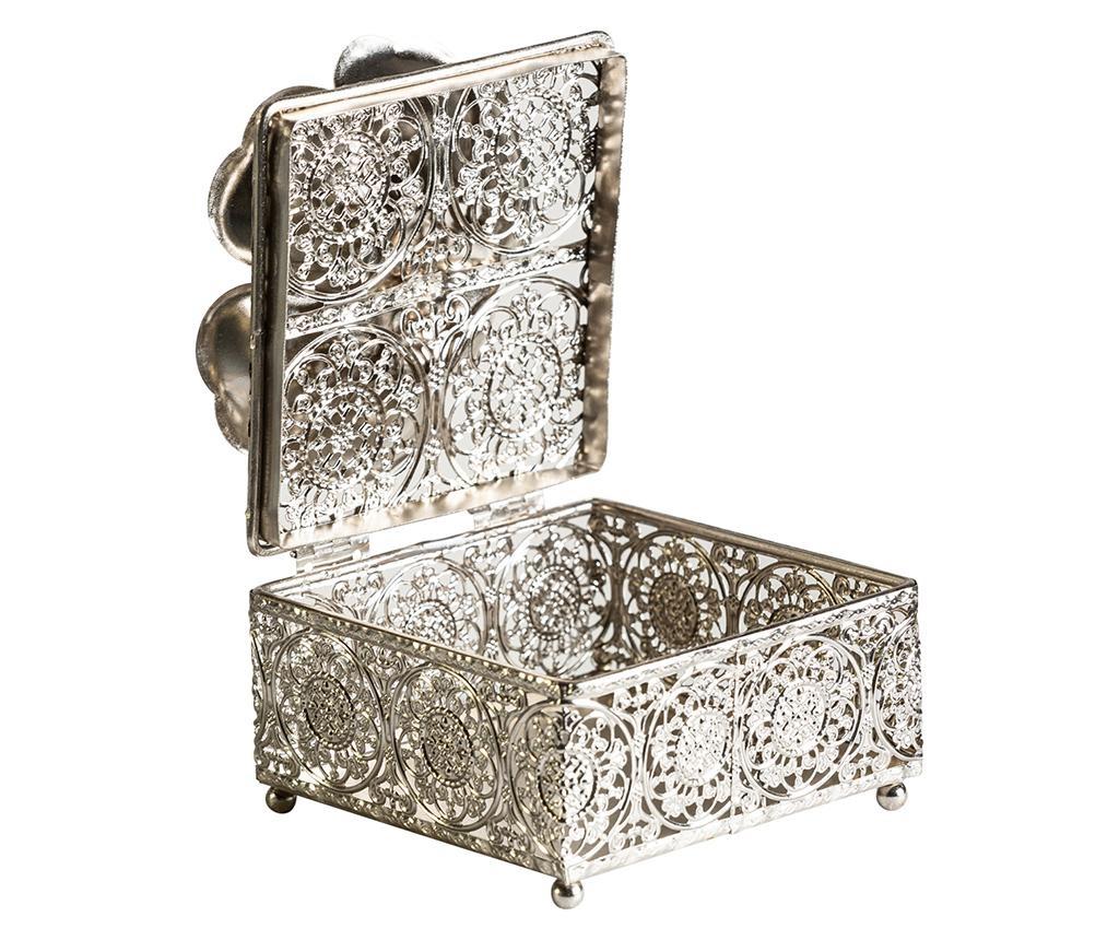 Декоративна кутия с капак Flowers Square