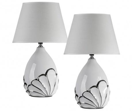 Sada 2 nočných lámp Fan