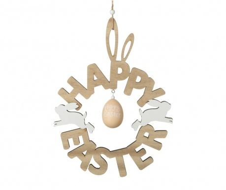 Decoratiune suspendabila Happy Easter Round