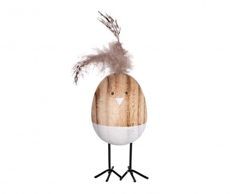 Decoratiune Wooden Bird
