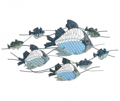 Fishes Fali dekoráció