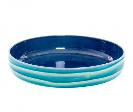 Dekoračná misa Waves Blue