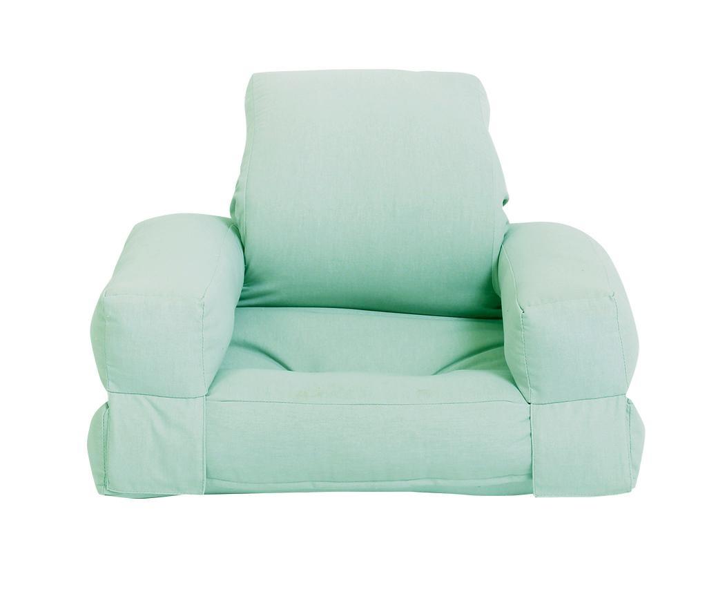 Mini Hippo Peppermint Kihúzható gyerek fotel 65x140 cm